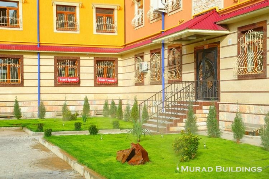 """""""Kukcha Kurgoni"""" residential complex.  General view of the building"""